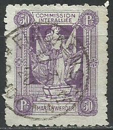 1920 PLEBISCYTY - KWIDZYN Fi 8 kas.