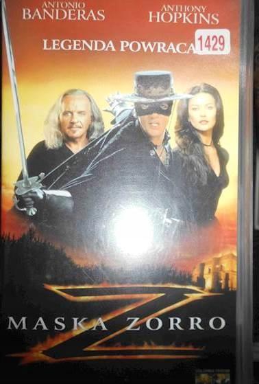 Maska Zorro - VHS kaseta video