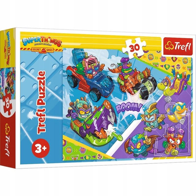 Trefl Puzzle 30 elementów Drużyna Super Szpiegów S