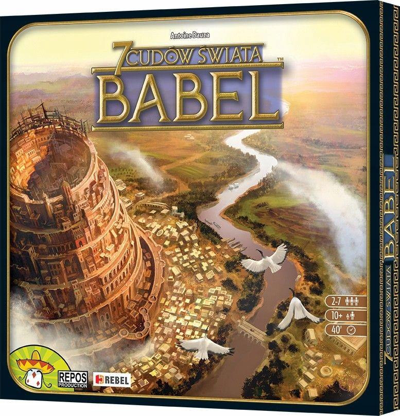 7 Cudów Świata Babel Gra planszowa