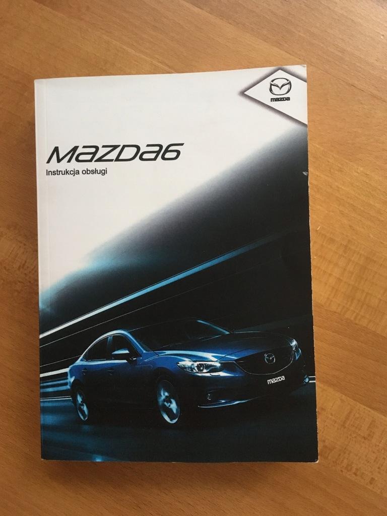 Mazda 6 GJ Skyactive Instrukcja Obsługi