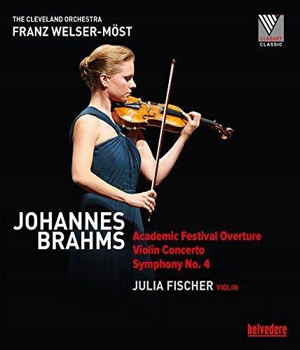 FISCHER/WELSER-MOST: BRAHMS / VIOLIN CONCERTO (DVD