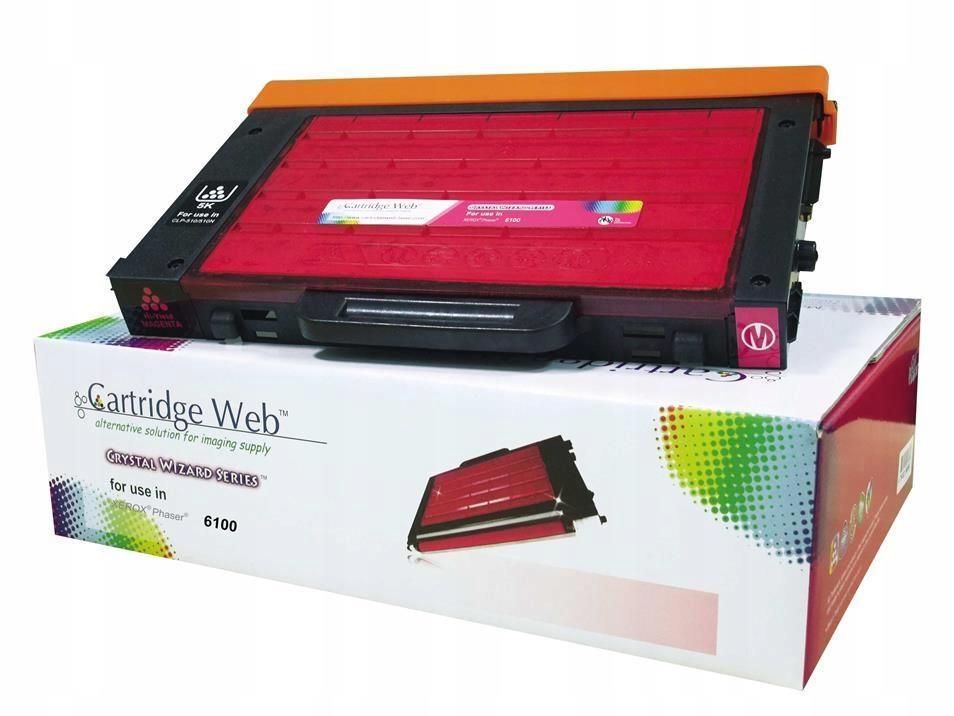 Toner Cartridge Web Magenta Xerox 6100 106R00681