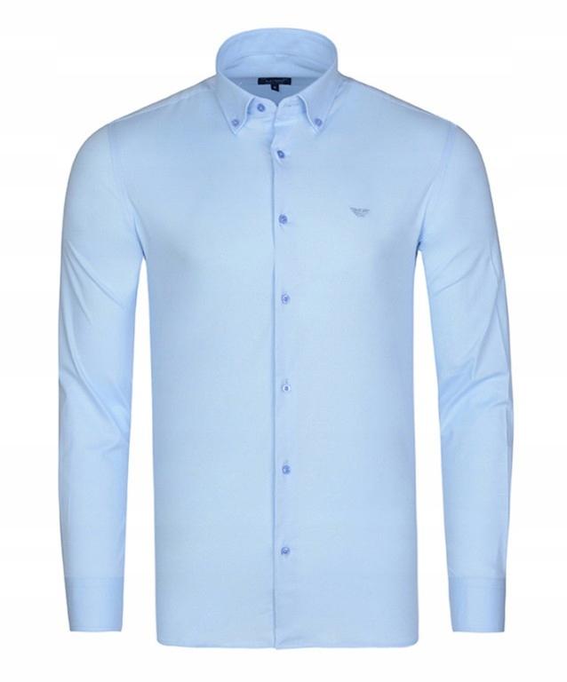 OKAZJA Koszula męska Armani Jeans Blue L