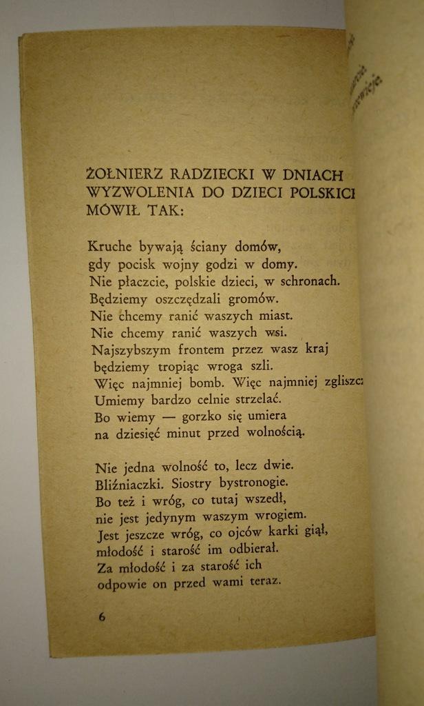 Wisława Szymborska Dlatego żyjemy Debiut Wydanie 2