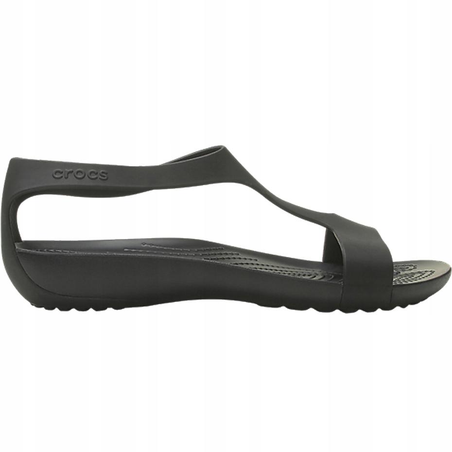 Crocs sandały damskie Serena Sandal W czarne 20546
