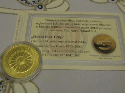 "NUMIZMAT ""POLSKI FIAT 126P"" 2011"