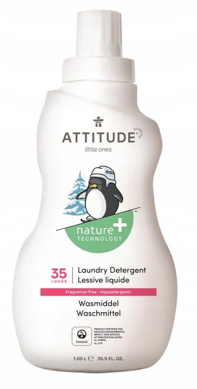 Attitude, Płyn do prania ubranek dziecięcych, Bezz