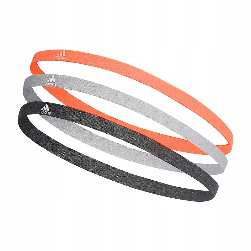 adidas 3 Pack Hairbands Opaski na włosy 217