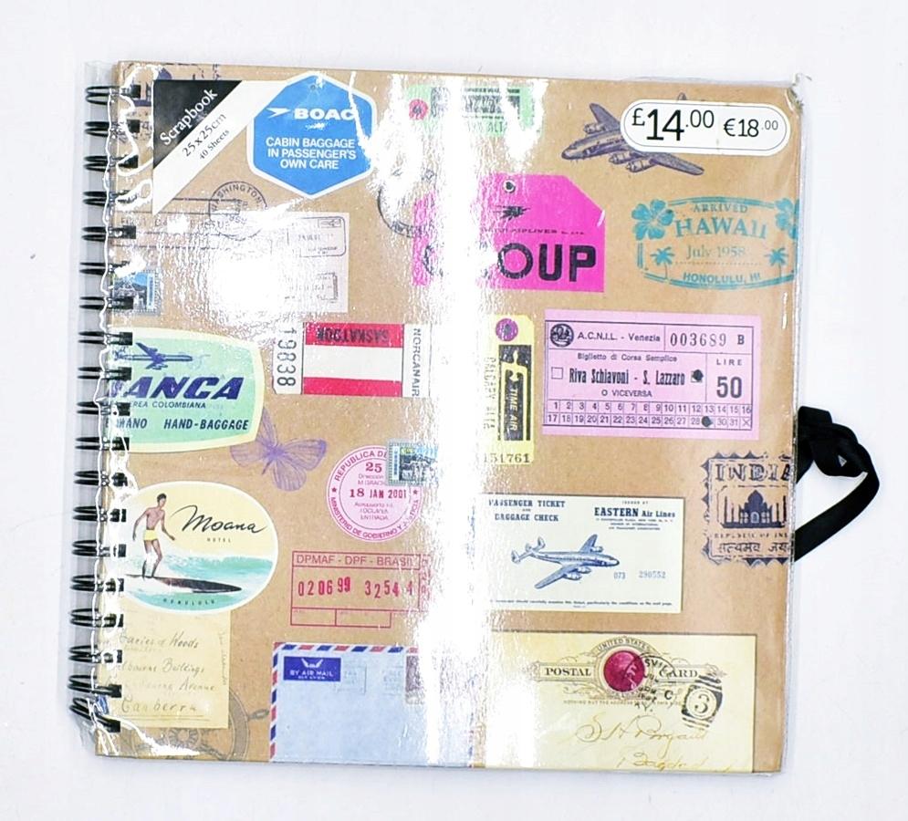 9526-18 BOAC.. NOTES PAPIER DO SCRAPBOOKINGU 20X25