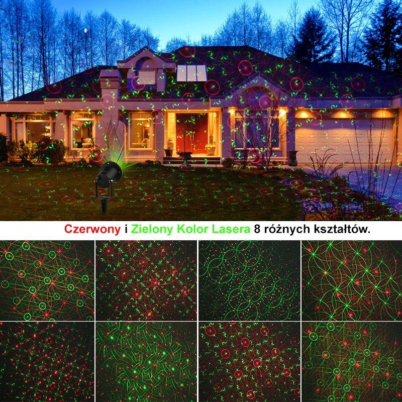 Projektor Laserowy Motion Star Shower Pilot 8w1 7025995357 Oficjalne Archiwum Allegro