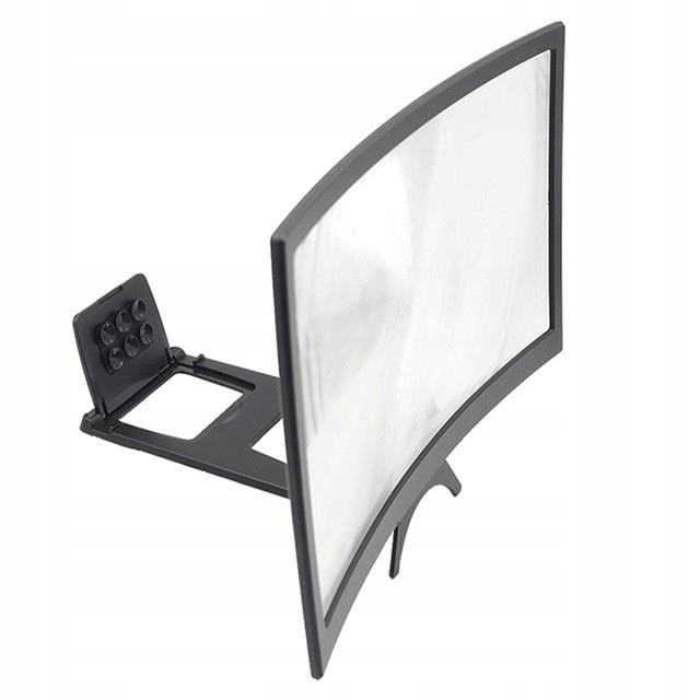 Przenośny Zakrzywiony Ekran HD 12-calowy Smartfon
