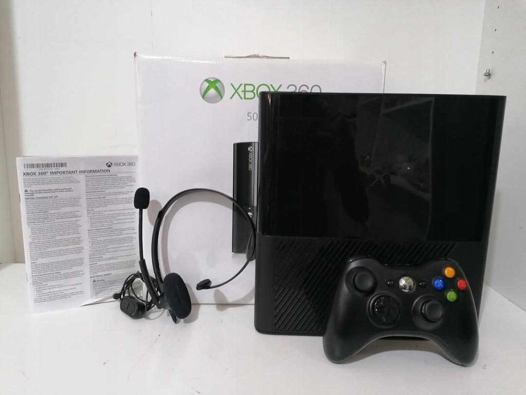 KONSOLA XBOX 360 E 1538 500GB ŁADNY STAN