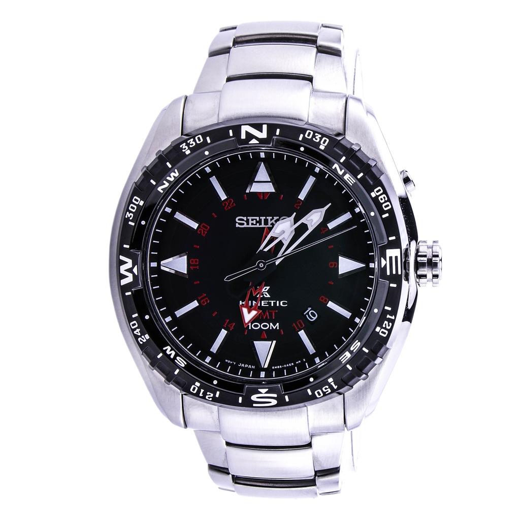 Zegarek SEIKO SUN049P1 kinetyczny datownik