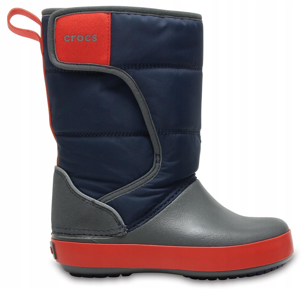 Crocs 204660 LodgePoint Snow Boot C12 29-30