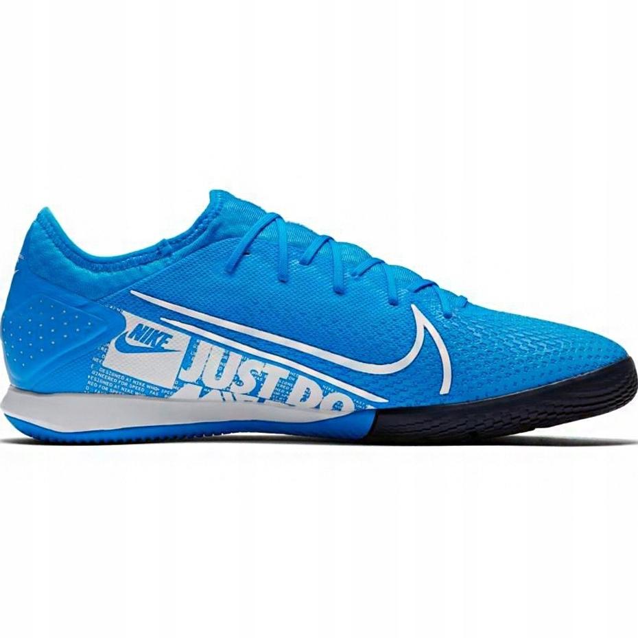 Niebieskie Syntetyk Buty Sport Halowe Nike r.44,5