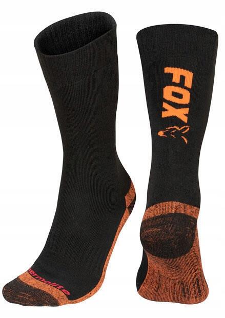 Skarpety Fox Black/Orange thermo Sock 40-43 CFW116