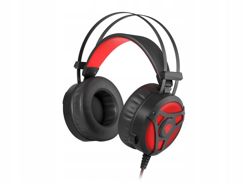 Słuchawki dla gracza Genesis Neon360 podświetlanie
