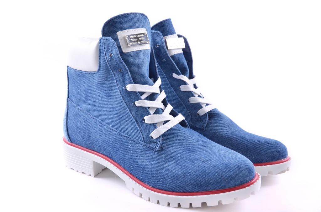 Vices Jeans Klasyczne Trapery Traperki 1169-11 r39