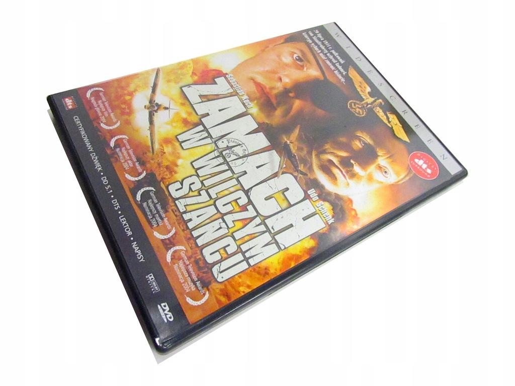 Zamach w wilczym szańcu DVD