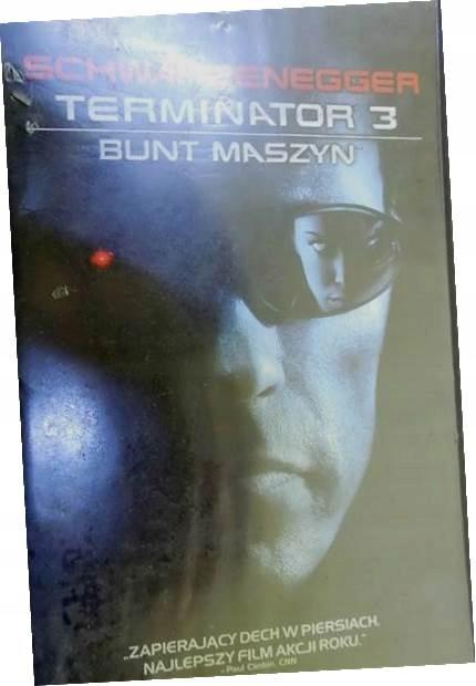 Terminator 3 Bunt maszyn - Arnold Schwarzenegger