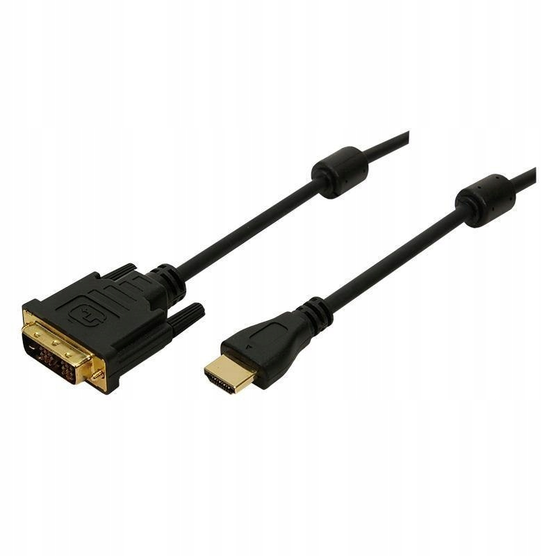 Kabel HDMI - DVI-D LogiLink CH0015 5m