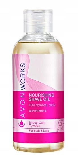 Avon Works Odżywczy olejek do golenia