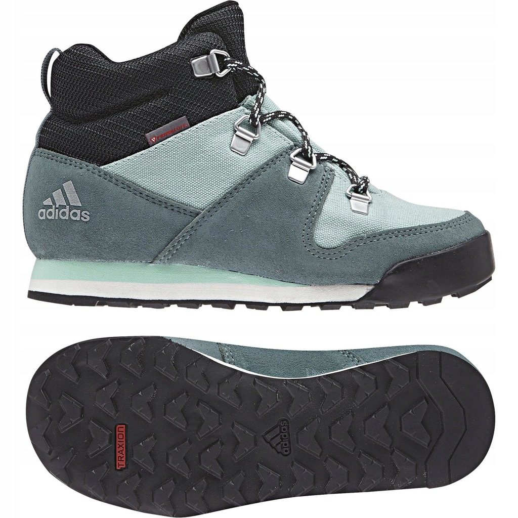 BUTY ADIDAS CLIMAWARM SNOWPITCH SHOES AC7962 r 35