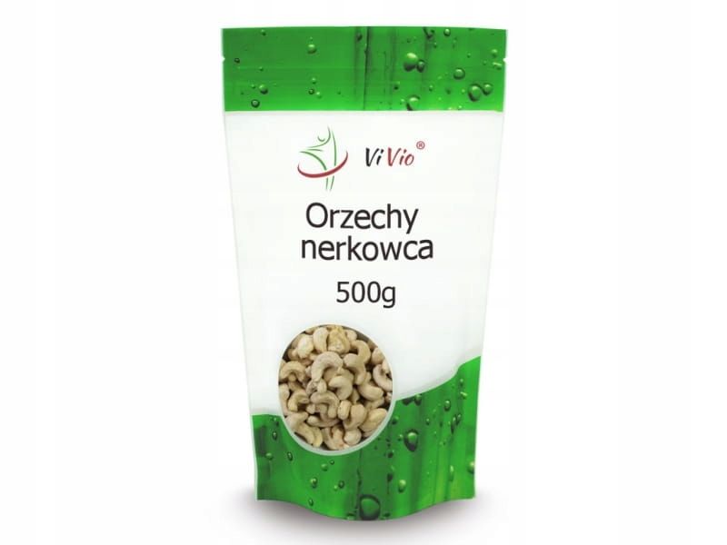 Orzechy nerkowca 500g Vivio