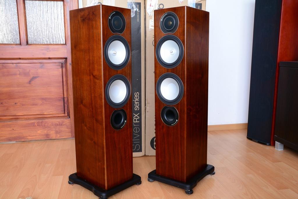 Kolumny Stereo Głośniki Monitor Audio Silver RX 6