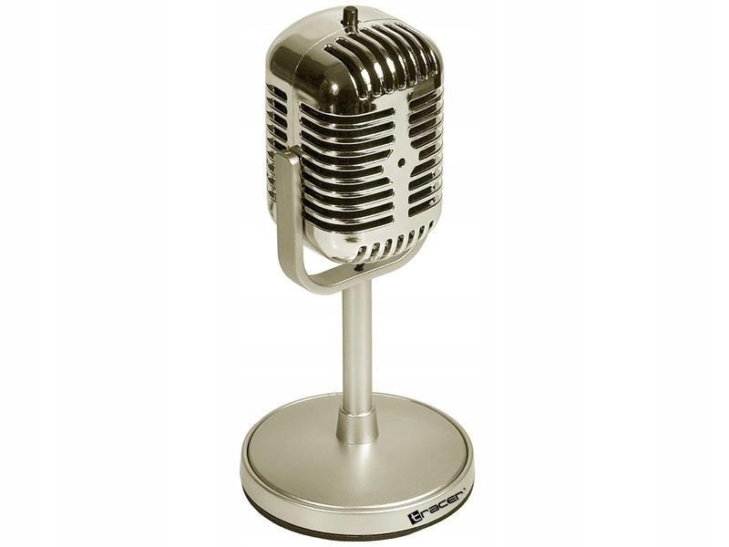 Mikrofon Tracer CLASSIC TRAMIC45434 (kolor srebrny