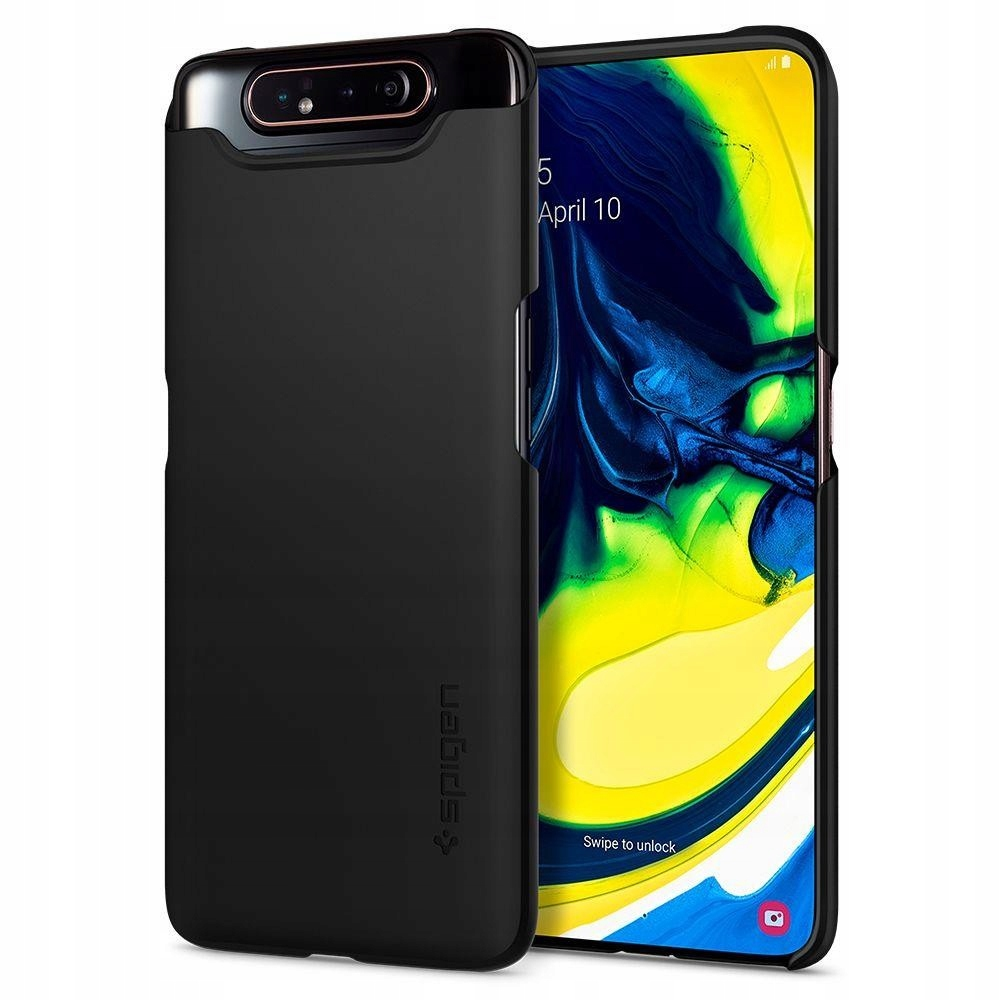 Galaxy A80 | Etui, futerał | Spigen Thin Fit