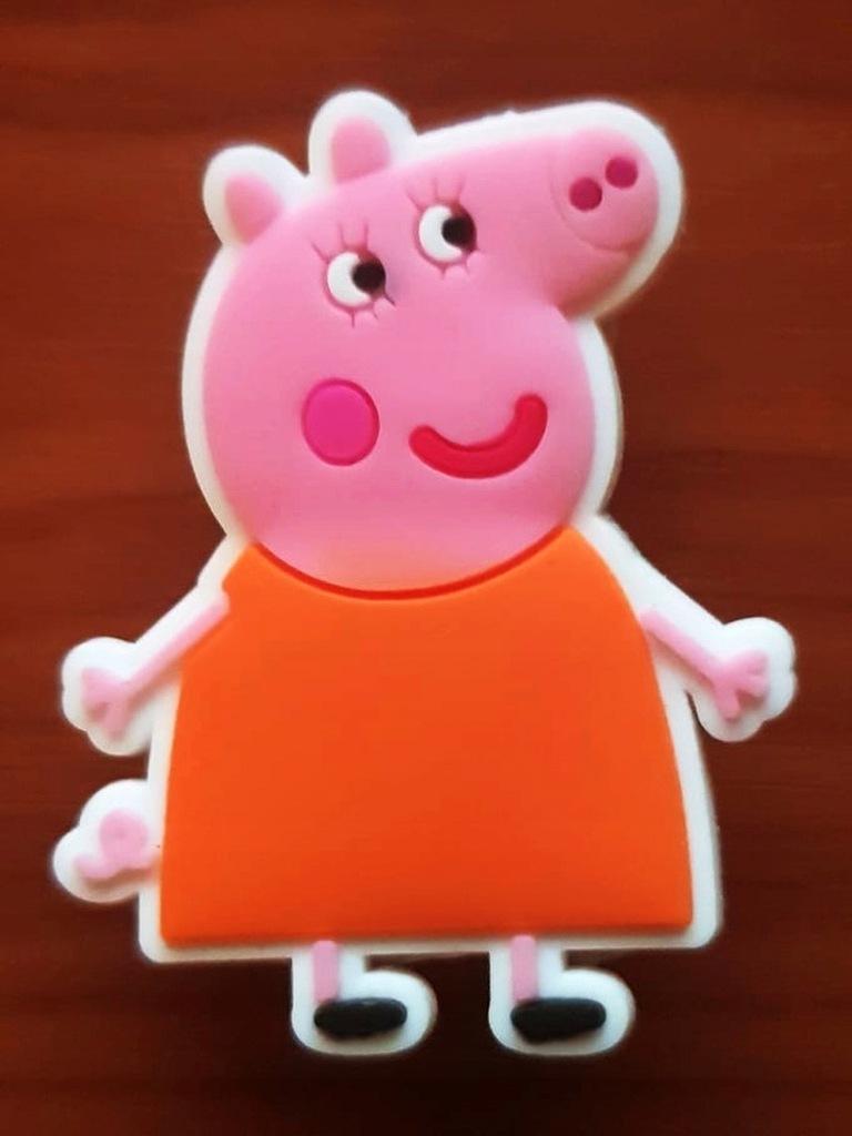Przypinka do Crocs jibbitz ŚWINKA PEPPA PIG