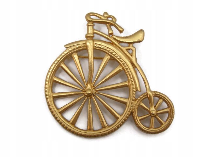 Ładna broszka bicykl ! nr 62