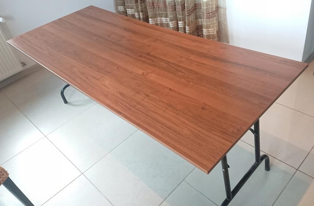 Stół składany konferencyjny cateringowy 200/80 cm