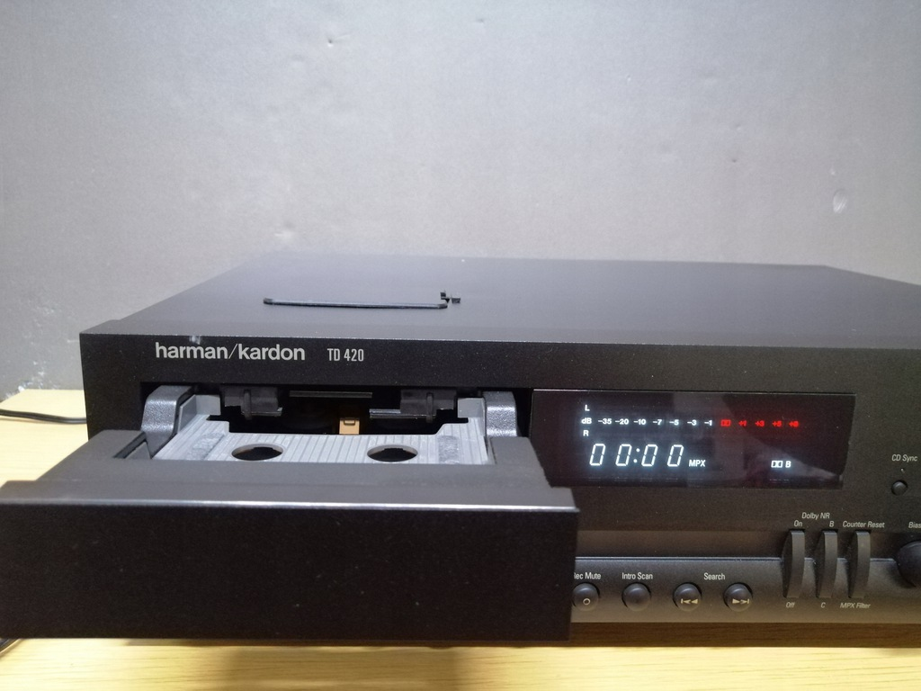 Magnetofon Harman Kardon TD420 deck szuflada