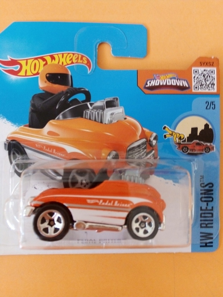 HOT WHEELS MODEL PEDAL DRIVER