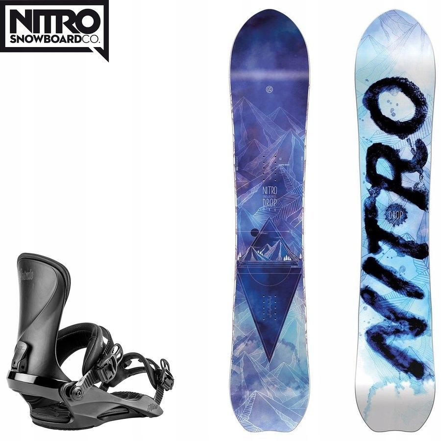 Snowboard Drop + wiązania Cosmic z 2650PLN