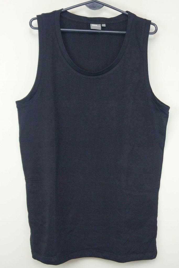 ASOS czarna klasyczna koszulka bez rękawów XXL