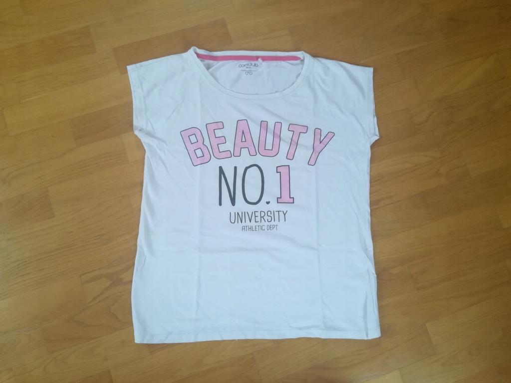 Świetny T-shirt bluzka COOL CLUB w rozmiarze 170