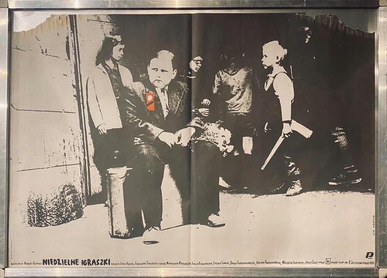 """Plakat filmowy """"Niedzielne igraszki"""""""