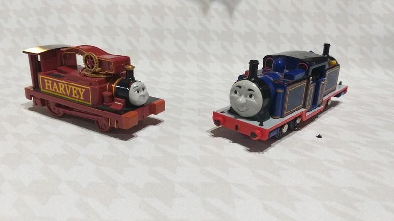 Tomek I Przyjaciele Trackmaster Hubcio i Mocny Mac