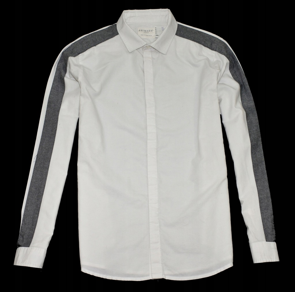 MM 395 PRIMARK_TRENDY ELEGANT WHITE SHIRT_L
