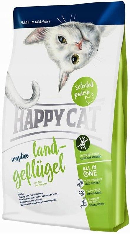 HAPPY CAT Sensitive Kurczak 300g
