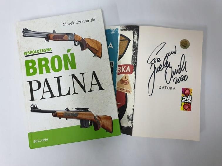 HIT książka Zatoka z podpisem Jurka Owsiaka