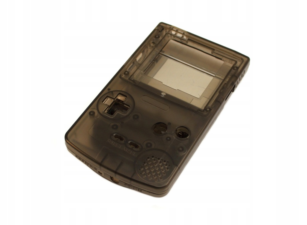 Obudowa konsoli Game Boy Color GBC [TRANS. CZARNA]