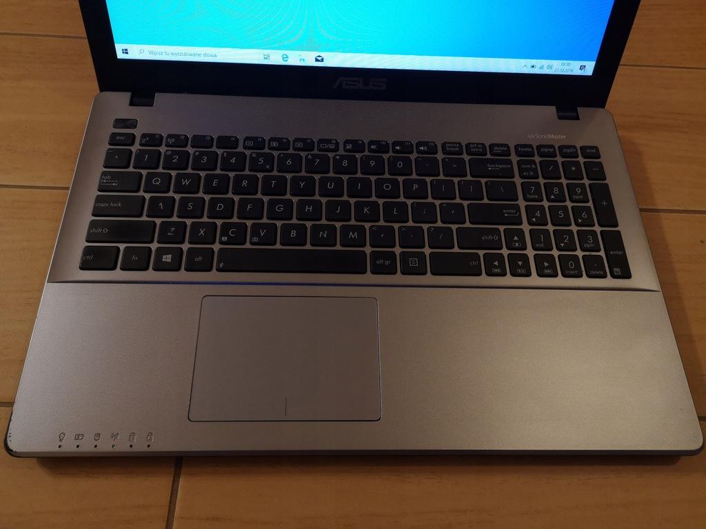 Asus X550C i3-3217U 8GB 256SSD Geforce GT720M FV