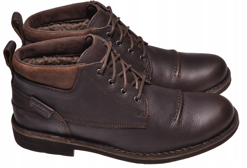 BOTKI CLARKS LAWES TOP Brown WLined Lea 45