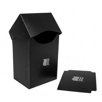 Pudełko na karty Blackfire Vertical 80+ Czarne