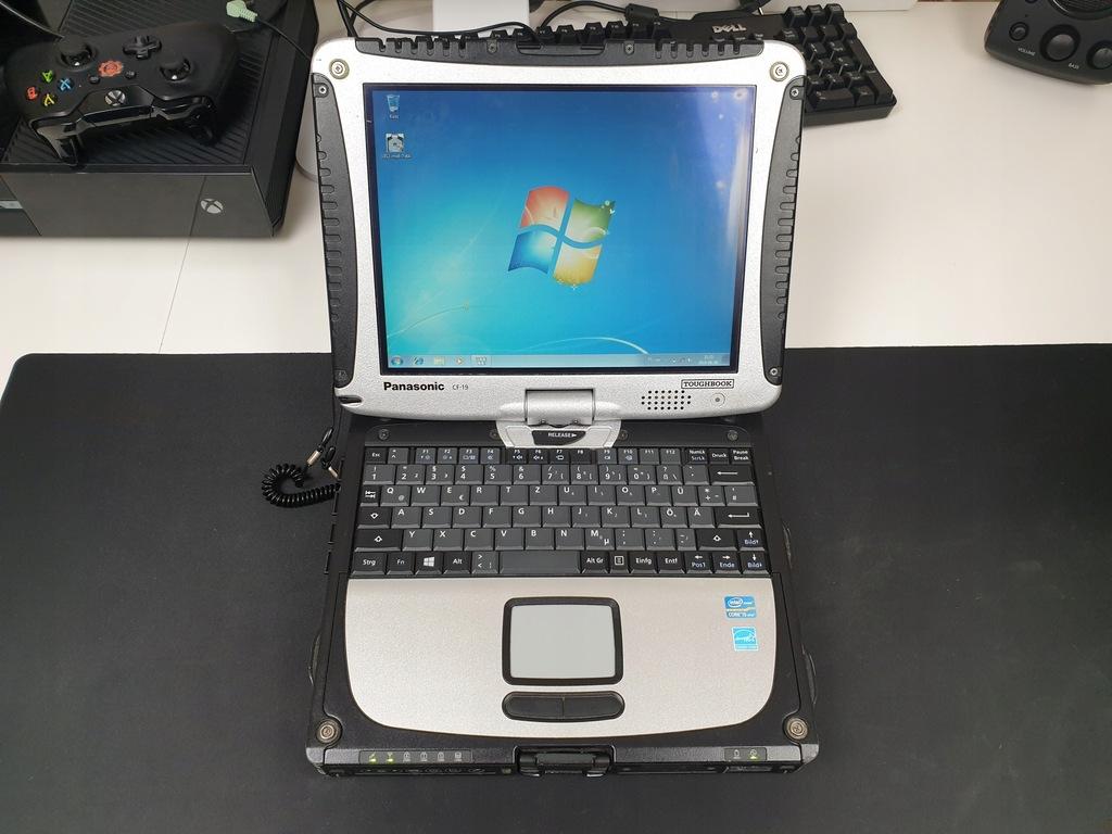 Panasonic CF-19 MK6 i5 3340M 8GB SSD RS232 3G BCM